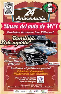 24 Aniversario Museo del Auto de Monterrey