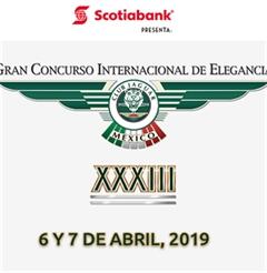 Más información de XXXIII Gran Concurso Internacional de Elegancia