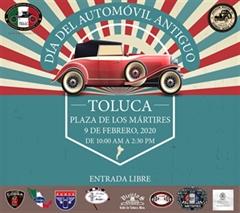 Día del Automóvil Antiguo Toluca 2020