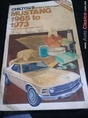 manual de manto. del Ford Mustang para modelos  1965 al 1973