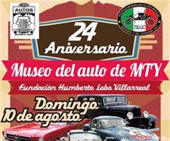 Más información de 24 Aniversario Museo del Auto de Monterrey