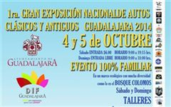 Más información de 1a Gran Exposición Nacional de Autos Clásicos y Antiguos Guadalajara 2014