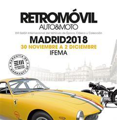 Más información de Retromóvil Madrid 2018