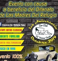 Más información de 1er Aniversario Car Club Clasicos Ciudad Victoria Tamaulipas
