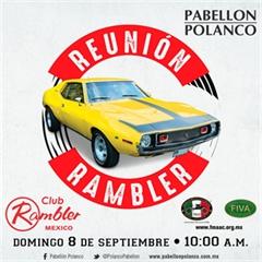 Más información de Reunión Club Rambler México Septiembre 2019