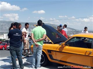 Decimo Aniversario Club Mustang Monterrey |