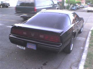 Knight Rider KITT Pontiac firebird third |