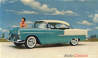 Chevrolet 1955 | Bel Air Sport Coupe, India Ivory – Regal Turquoise