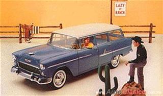 Chevrolet 1955 | Bel Air Vagoneta cuatro puertas,Shoreline Beige – Glacier Blue