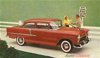 Chevrolet 1955 | 210 Sedan dos puertas, Copper Maroon