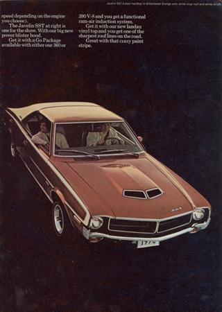 Rambler | 1970 AMC Javelin SST