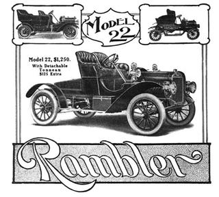 Rambler | 1905 Rambler Model 22