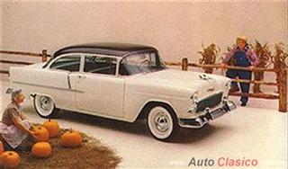 Chevrolet 1955 | 210 Delray Club Coupe, Onxy Black - India Ivory
