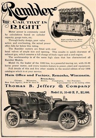 Rambler | 1906 Rambler Model 15