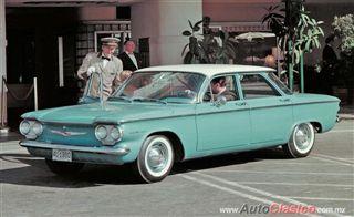 GM Corvair, maravilla con motor trasero