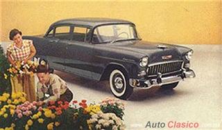 Chevrolet 1955 | 150 Sedan cuatro puertas, Shadow Gray
