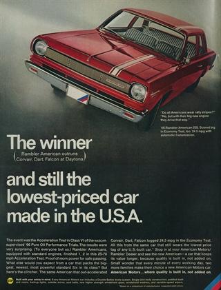 Rambler | 1966 Rambler American 220