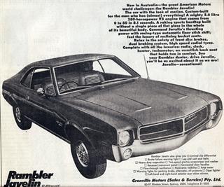 Rambler | 1968 AMC Javelin