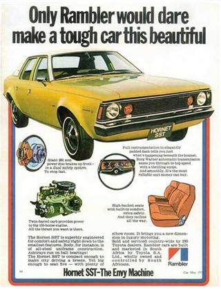 Rambler | 1973 AMC Hornet SST