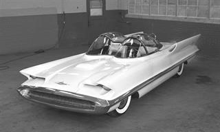 Lincoln Futura 1955: auto de concepto